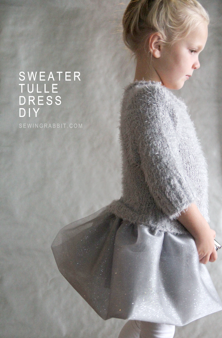 DIY Sweater Tulle Dress