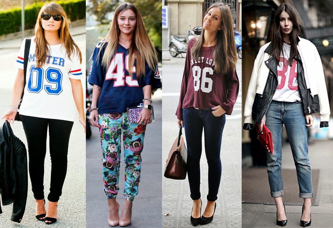 16 awesome ways to wear your sporty t-shirt and jersey