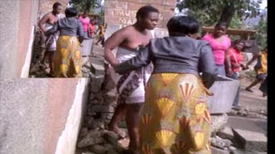 VIDEO: Big Girl Caught In The Act With Married Man; Angry Wife Strip Her Naked