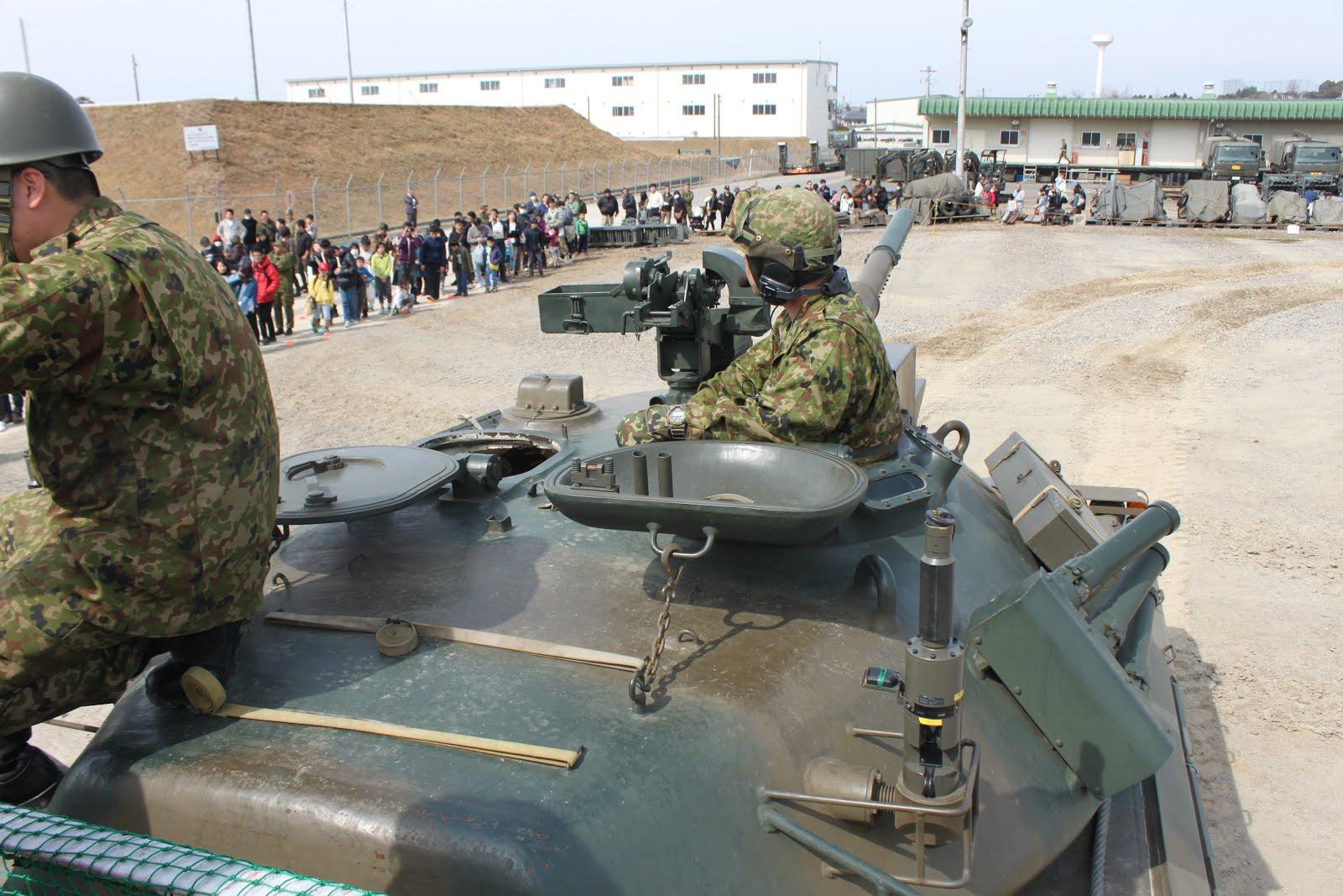 74式戦車・戦車兵