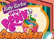 Little Pony Cupcakes Baby Barbie