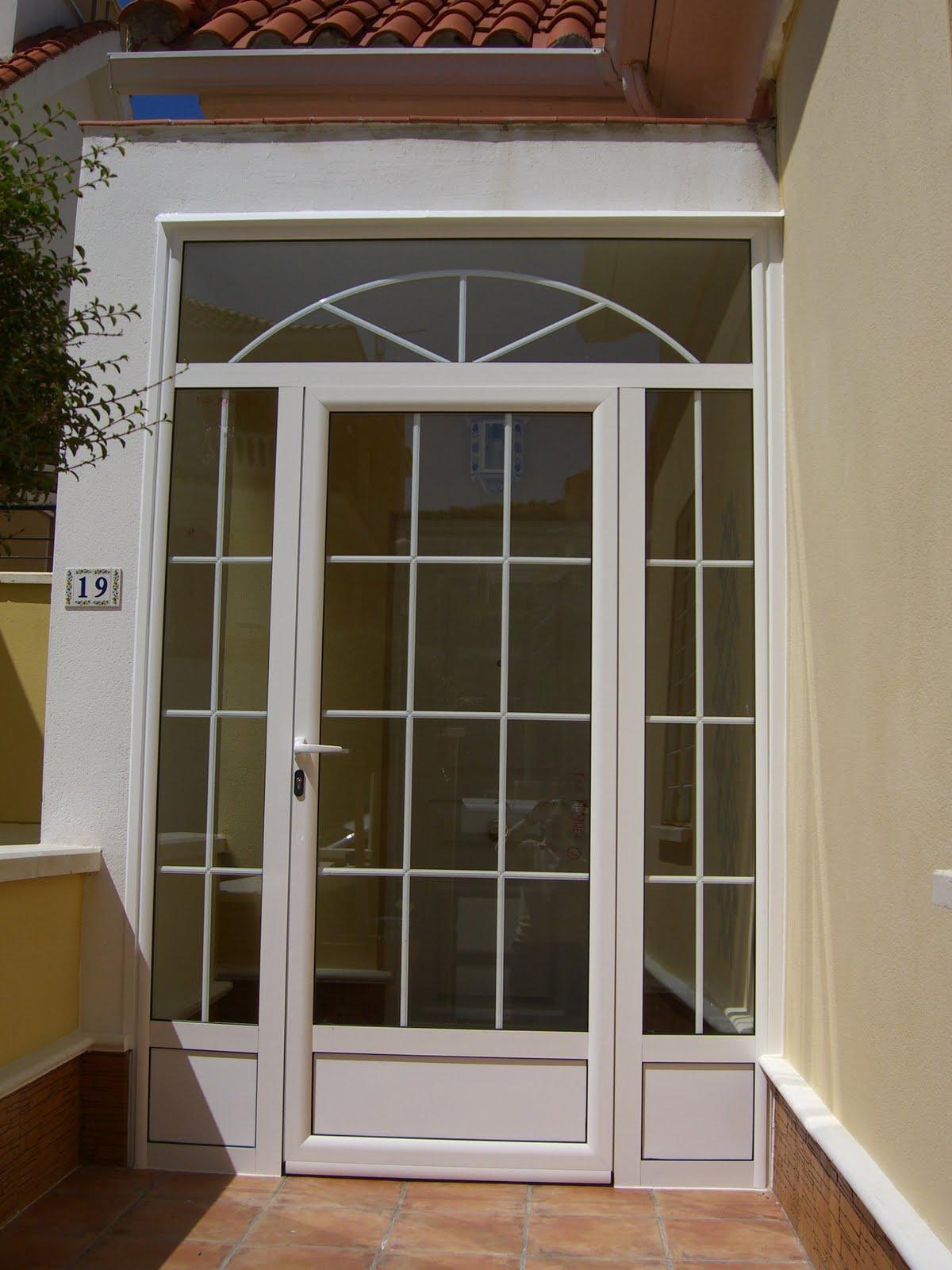 Aluminio y pvc en aranjuez y alrededores quot - Puertas de aluminio para entrada principal ...