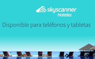 Skyscanner comparador de Hoteles