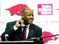 Who said Mike Anderson wasn&#39;t coming back this year?
