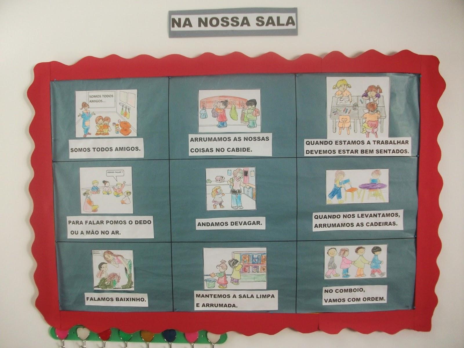 ideias para trabalhar no jardim de infancia:Bom dia, alegria!!!: Quadros da nossa sala