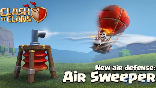 Kegunaan Air Sweeper Game COC