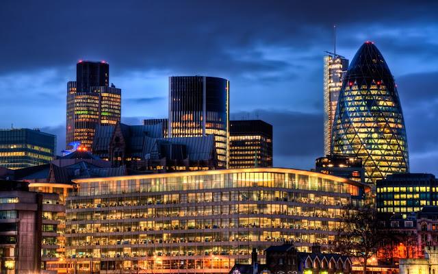 Imagenes de la Ciudad Londres en la Noche