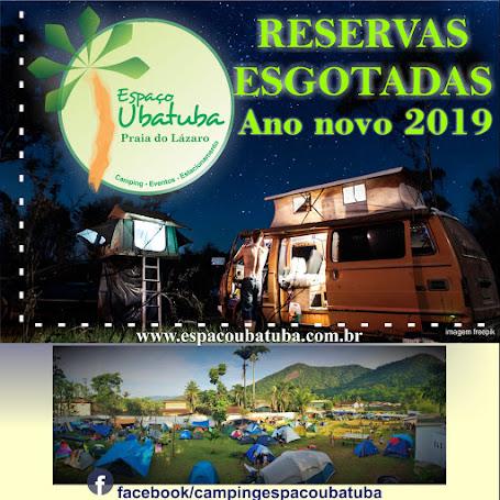 Reservas Esgotadas Reveillon Camping Espaço Ubatuba