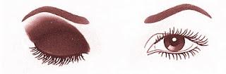 aplicar sombra de olhos em palpebras caidas