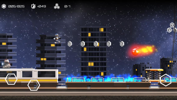 Atom Run - App da Semana