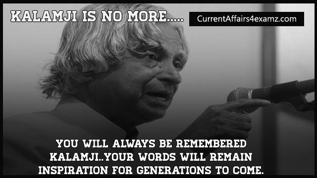 Tribute to Kalamji...