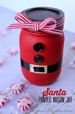 http://www.idigpinterest.com/2014/12/santa-painted-mason-jar-neighbor-gift.html