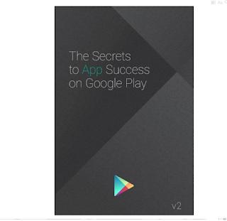 Buku Gratis Rahasia Sukses agar Aplikasi Sukses di Google Play
