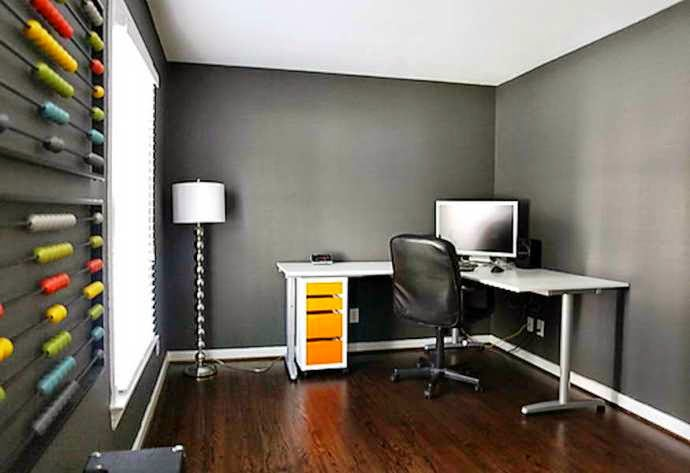 11 brilliant images of painting for office home living - Best paint for office walls ...