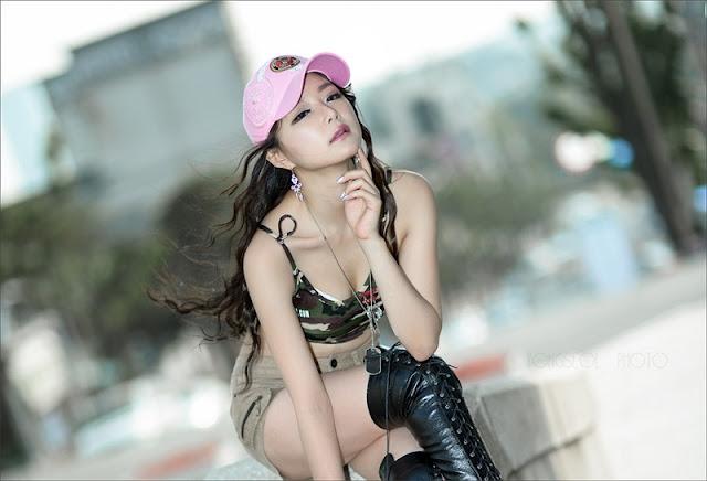 Race Queen Lee Eun Seo