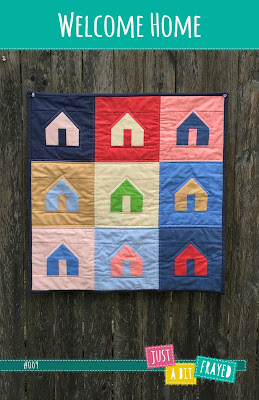 Welcome Home mini quilt pattern
