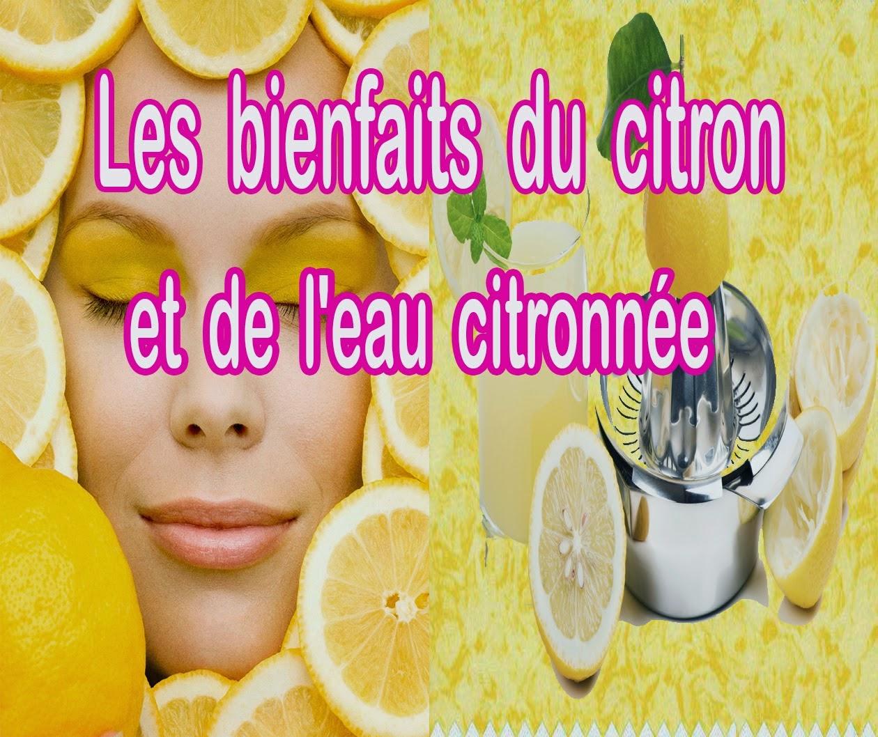 Les bienfaits du citron et de l'eau citronnée ~ Sports et