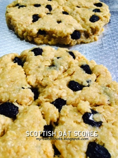 The Scottish Oat Scones that I'm in love with ... ♥♥
