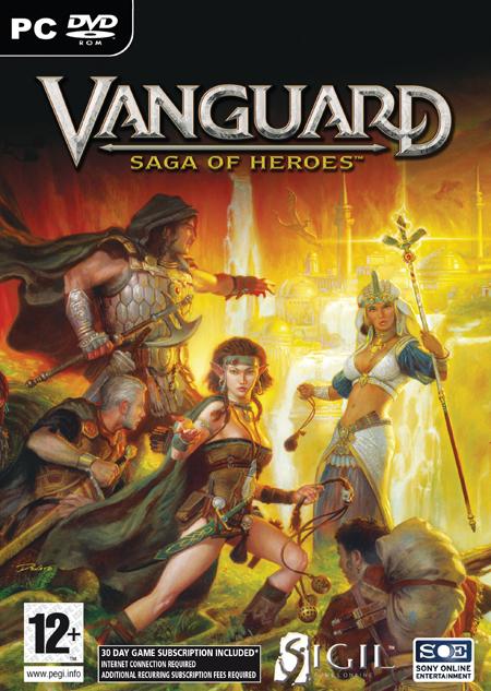 Vanguard: Saga of Heroes - Portada