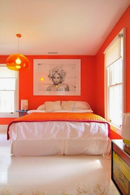 conception frache de chambre orange - Decoration Chambre Camaieu Orange