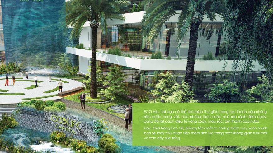 ECOLIFE CAPITOL có tiêu chí tiết kiệm năng lượng và thân thiện với môi trường