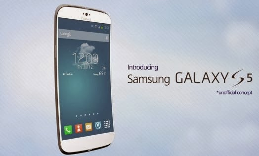 Look of Samsung Galaxy S5