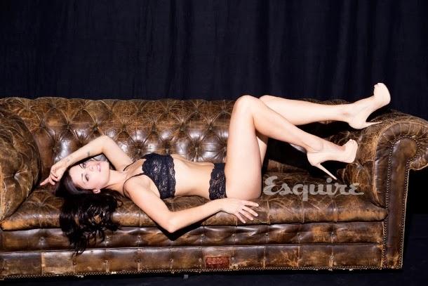 Jaimie Alexander en ropa interior para Esquire