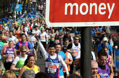 London Marathon money