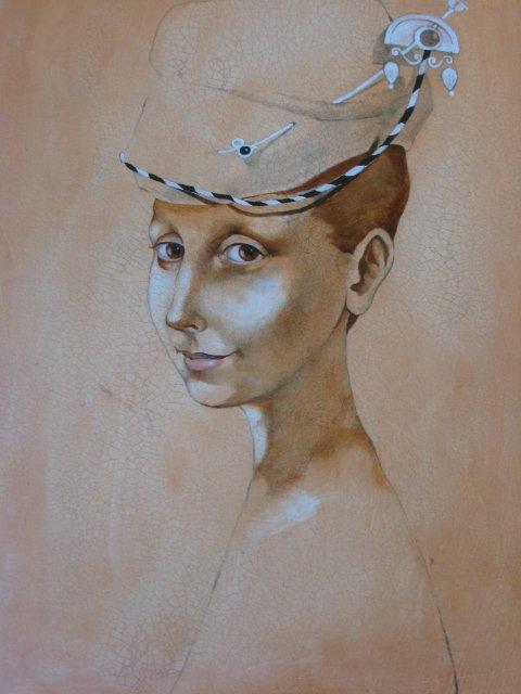 Daiva Staškevičienė 1968 | Lithuanian Symbolist / Figurative painter