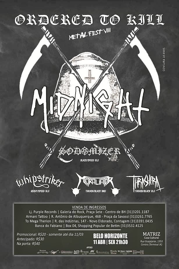 Ordered to Kill Metal fest VII