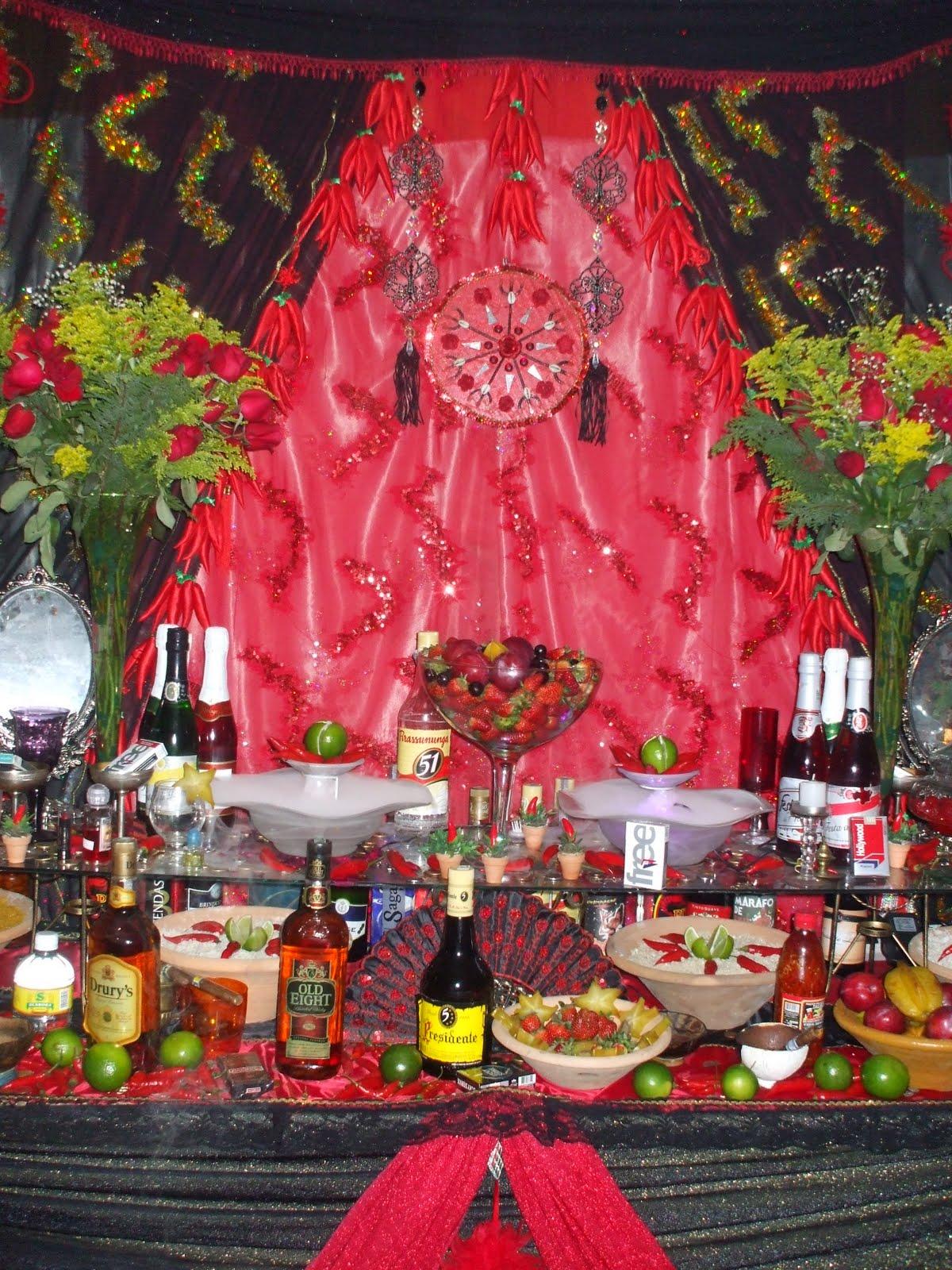 Festa de Exu demonstrao de alegria e agradecimento pelas 83