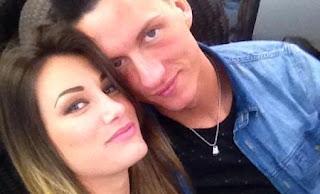 Valentina Bonariva e il fidanzato Luca
