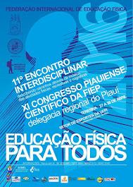 11° ENCONTRO INTERDISCIPLINAR E XI CONGRESSO PIAUIENSE CIENTÍFICO DA FIEP/PI