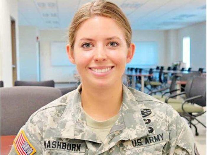 Rachel Washburn From Nfl Cheerleader To Us Military Damn Cool