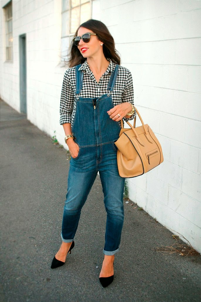 summer to fall transition outfit, overalls