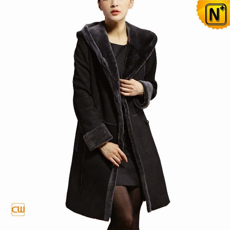 Women Hooded Fur Coat