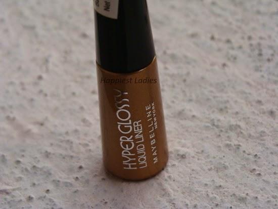 Maybelline Hyper Glossy Electrics Eyeliner Gold Iation