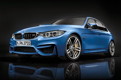 BMW M3 Saloon (2014) Front Side