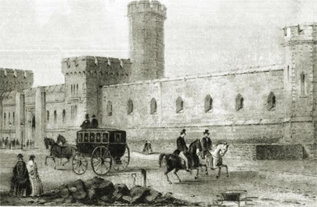 foto lukisan penjara eastern state di zaman dulu