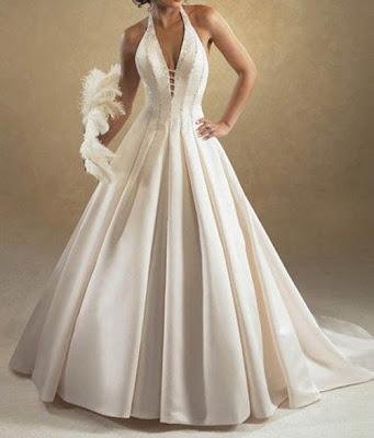 Vestido de noiva, moderno