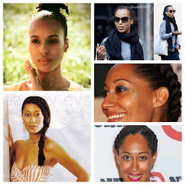 Natural hair inspirations: Tracee Ellis Ross and Kerry Washington