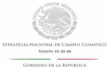 CONOCE LA ESTRATEGIA NACIONAL DE CAMBIO CLIMATICO.