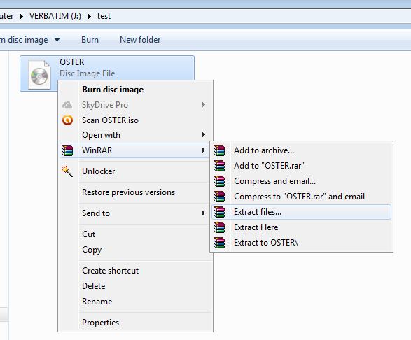 Extract ISO Files