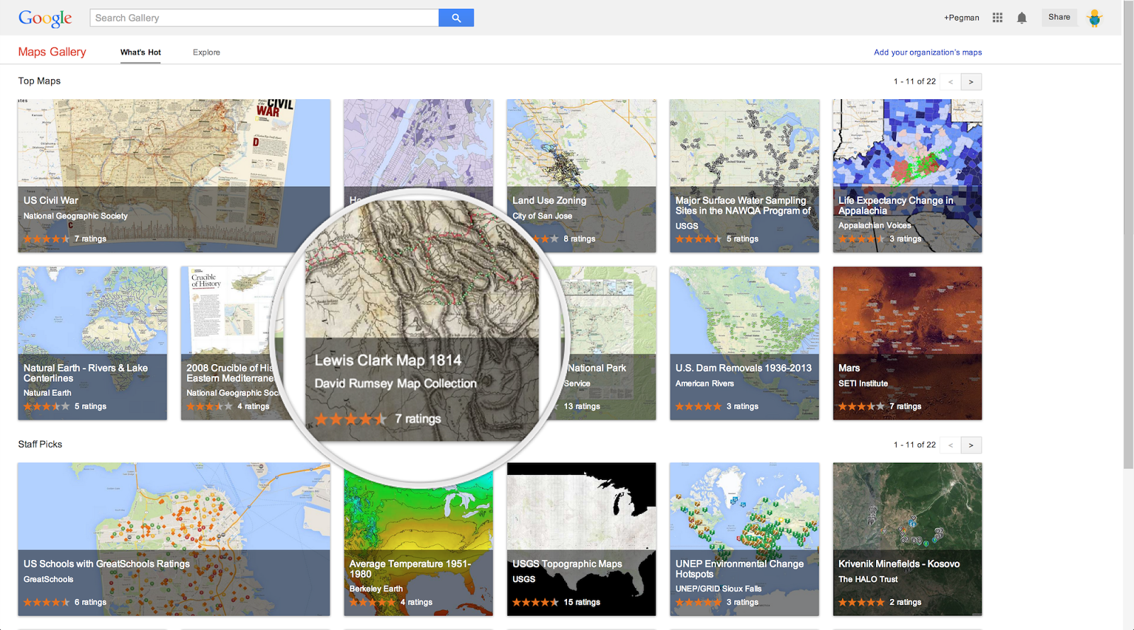 Google lat long introducing google maps gallery unlocking the well now with the new google maps gallery its easier for you to find maps like those all in one place gumiabroncs Image collections