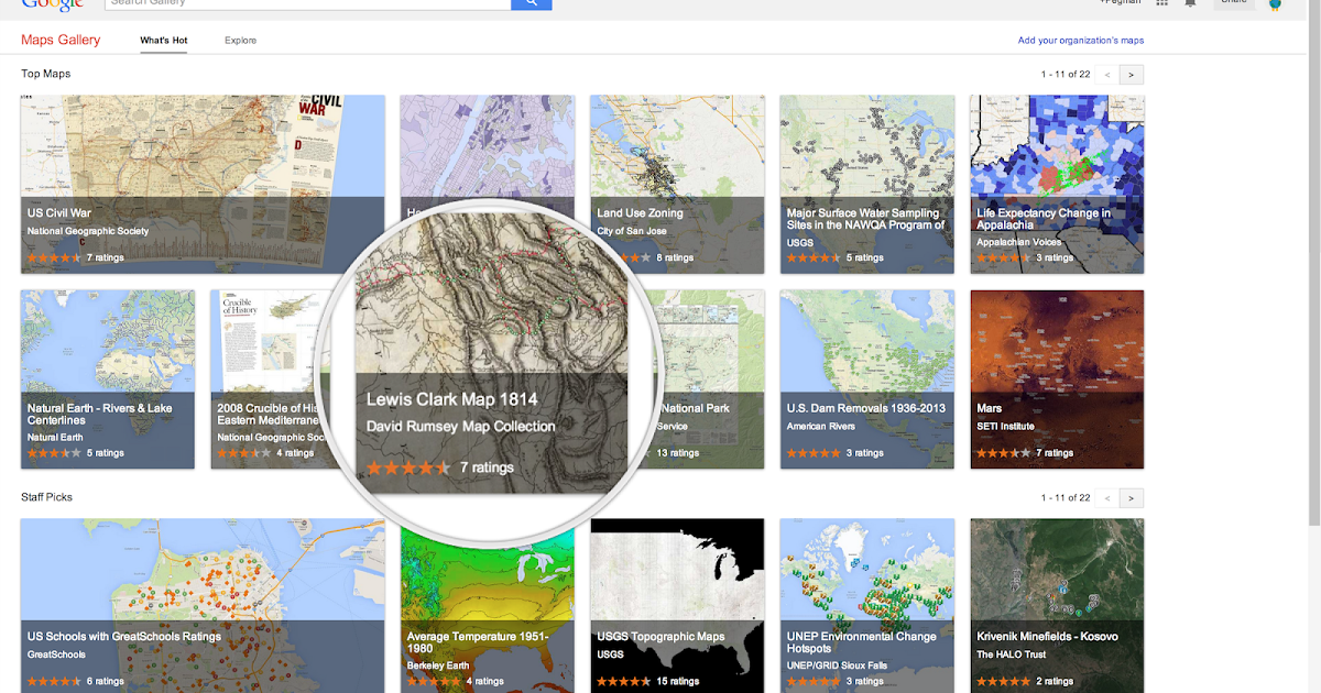 Introducing Google Maps Gallery: Unlocking the World's Maps