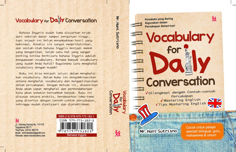 Book Vocabulary for Daily Conversation