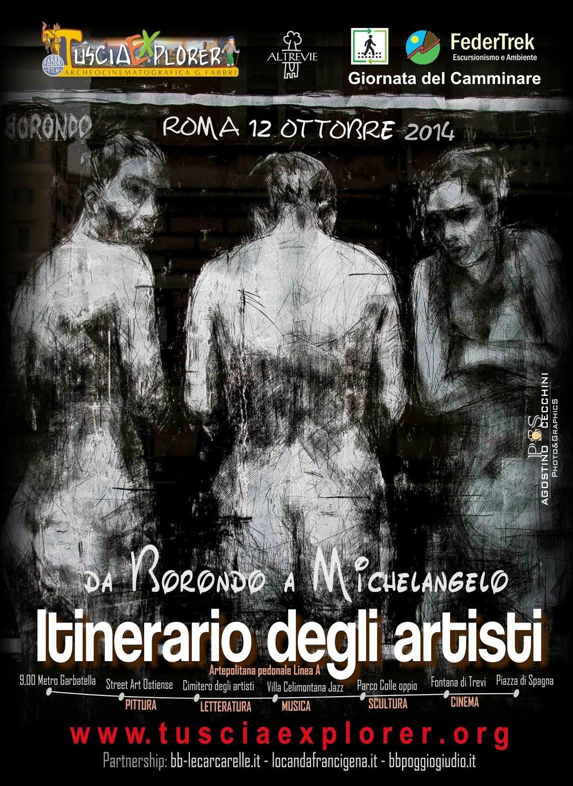 ITINERARIO DEGLI ARTISTI