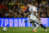 Messi had embarrassed Boateng a World Cup-winning defender