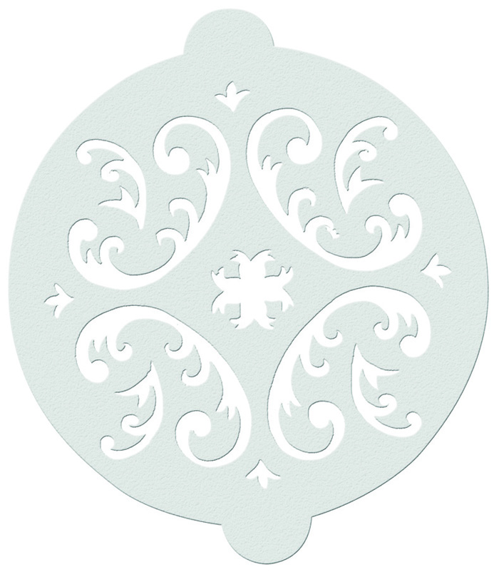 Vicky yorke designs cake stencils for Chocolate filigree templates
