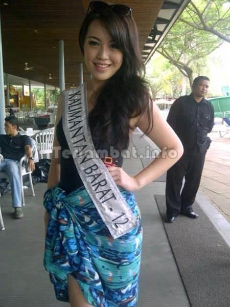 Vania Larissa Miss Kalbar 2013